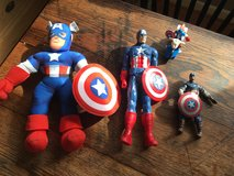 Captain America toys in Waldorf, Maryland
