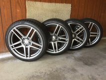 Pirelli Sottozero AMG C63 Winter Wheels and Tires in Oswego, Illinois