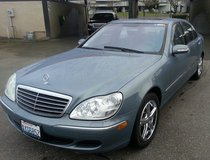 Like New 2005 Mercedes S430 with 100k in Fort Lewis, Washington