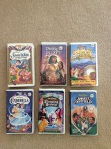 Disney Movies (VHS) in Joliet, Illinois