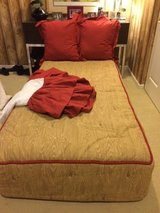 Two Custom made Comforters and bedding sets, never used in New Lenox, Illinois
