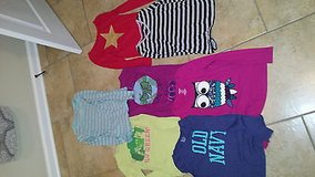 Girls Old Navy & Cherokee Long Sleeve Shirt Lot of 7 Size Large in Leesville, Louisiana