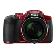 Nikon COOLPIX P610 Digital Camera with 60x Optical Zoom and Built-In Wi-Fi (Red) in Ramstein, Germany