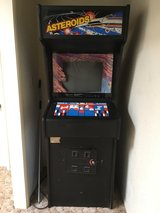 Asteroids Arcade game in Yucca Valley, California