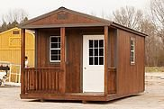 Cabin style portable buildings in Hattiesburg, Mississippi
