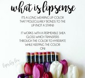 Lipsense (100% budge-proof, waterproof, long lasting lipstick!) in Camp Lejeune, North Carolina