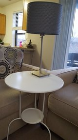 Side table & lamp in Glendale Heights, Illinois