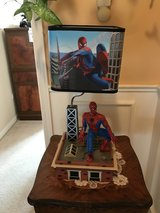 Marvel Spider-Man Animated Electric Lamp Moves Sings Them Song From 60'S Rare in Lockport, Illinois