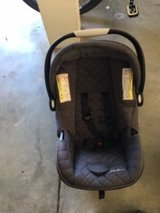 2 Eddie Bauer Carseats, 2 bases, babytrend snap and go stroller in Travis AFB, California