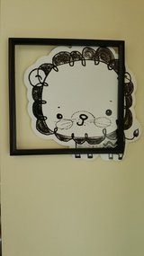Childrens lion wall decor picture frame in Naperville, Illinois