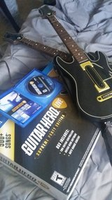 ps4 guitar hero live supreme party edition used once 2 guitars in Fairfield, California