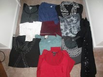 Women's size Xl lot of tops, 11 total in Fort Benning, Georgia