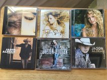11 CD's:  Alison Kraus and Union Station, Dixie Chicks, Aldean, Swift in Camp Pendleton, California