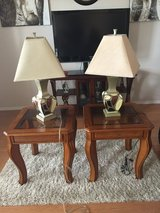 2 end tables and 2 lamps in Fort Leonard Wood, Missouri