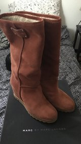Brown Suede Marc by Marc jacob boots in Schofield Barracks, Hawaii