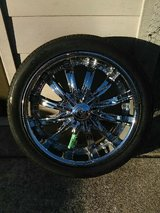 "18"" rims and tires in Naperville, Illinois"