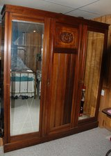 Armoir, Eastlake/Victorian carved walnut for sale in bookoo, US