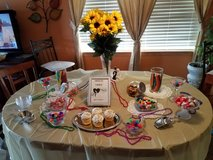 Wedding Sweets Table in Morris, Illinois