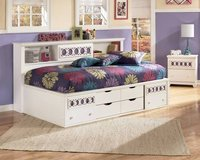 Zayley Twin Bookcase Bed by Ashley in Fort Leonard Wood, Missouri
