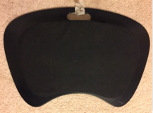 Portable LAPTOP DESK w Cushion-Handle-Travel-Tray-Lightweight - $7 in New Lenox, Illinois