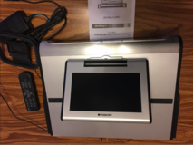 "Polaroid Under Cabinet Kitchen 7"" LCD TV DVD AM/FM CD Player FDM-0715 - $40 in Tinley Park, Illinois"