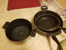 Pots and pans in Lockport, Illinois