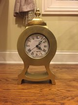 Gold Clock - Wedding Centerpiece - Proposal Prop - Beauty and the Beast in Lockport, Illinois