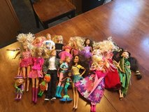 Barbie and princess doll lot in Lockport, Illinois