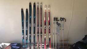 skis and poles in Sugar Grove, Illinois