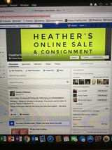 Heather's Online Sale & Consignment (Facebook) in Wilmington, North Carolina
