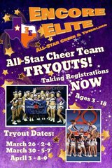 All-Star Cheer Team Tryouts in Spring, Texas
