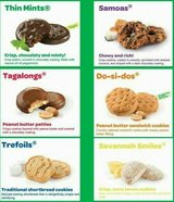 Girl Scout Cookies in Chicago, Illinois