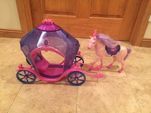 Toy horse and carriage in Batavia, Illinois