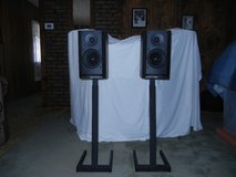 B&W DM-302 Speakers and Stands.  Mint! in Alamogordo, New Mexico