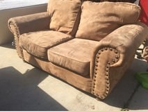 Reduced for quick sale - comfy microfiber loveseat in Hinesville, Georgia
