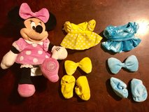 Adorable Plush Minnie Mouse Dress Up Doll in Glendale Heights, Illinois