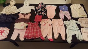 3-6 month baby girl clothes in Glendale Heights, Illinois