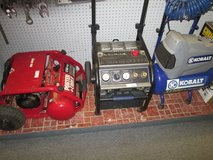 Air Compressors for sale! Come by and check them out in Cherry Point, North Carolina