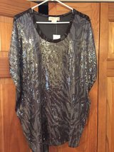New Michael Kors Sequined Camouflage Top - Size 2X in Glendale Heights, Illinois