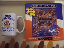 Boise State Broncos Mug & 500 pc. puzzle new in Mountain Home, Idaho