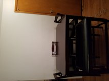 BAR HEIGHT TABLE WITH 3 CHAIRS & BENCH in Glendale Heights, Illinois