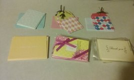 Blank/Thank you Note Cards in Joliet, Illinois