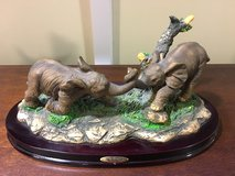The Wellington Collection Baby Elephants Figurine in Okinawa, Japan
