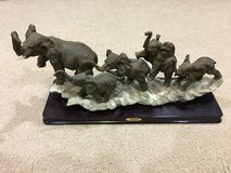 The Juliana Collection's Family of Elephants Figurine in Okinawa, Japan