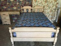 PICKLED OAK FULL SIZE BED ROOM SET in Fort Campbell, Kentucky