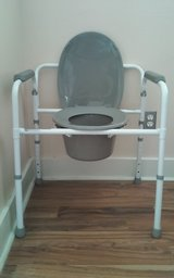 Lumex 3 in 1 Folding Steel Commode in Kingwood, Texas