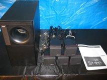 BOSE ACOUSTIMASS 6 SURROUND SOUND SPEAKER SYSTEM  IN EXCELLENT CONDITION in Elgin, Illinois