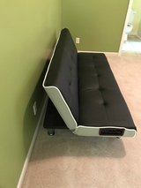 Futon Couch with incorporated speakers in Kansas City, Missouri