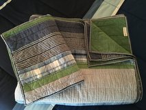 Pottery Barn Kids twin quilt & sham in Glendale Heights, Illinois