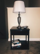 Set of two side tables and lamps in San Clemente, California